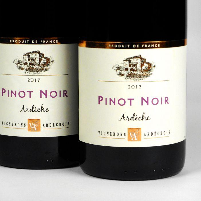 Coteaux de l'Ardèche: Cépage Pinot Noir 2017
