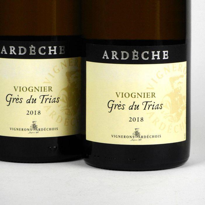 Coteaux de l'Ardèche: Cépage Viognier 'Grès du Trias' 2018