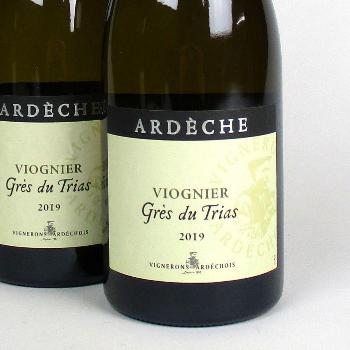 Coteaux de l'Ardèche: Cépage Viognier 'Grès du Trias' 2019