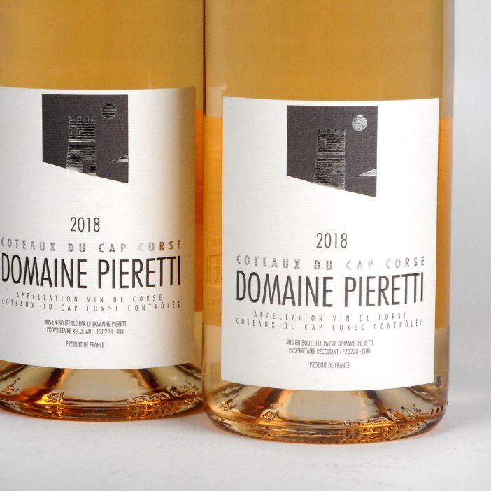 Coteaux du Cap Corse: Domaine Pieretti Rosé 2018