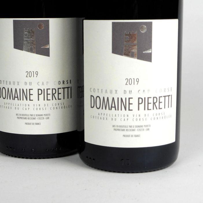 Coteaux du Cap Corse: Domaine Pieretti Rouge 2019
