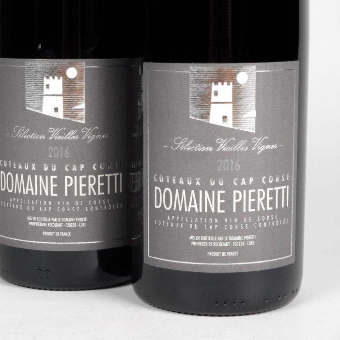 Coteaux du Cap Corse: Domaine Pieretti 'Vieilles Vignes' Rouge 2016