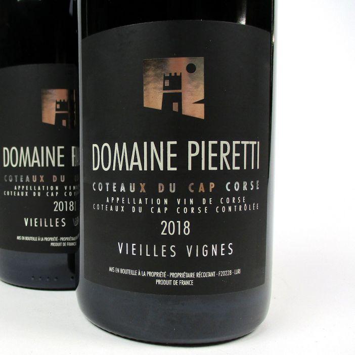 Coteaux du Cap Corse: Domaine Pieretti 'Vieilles Vignes' Rouge 2018