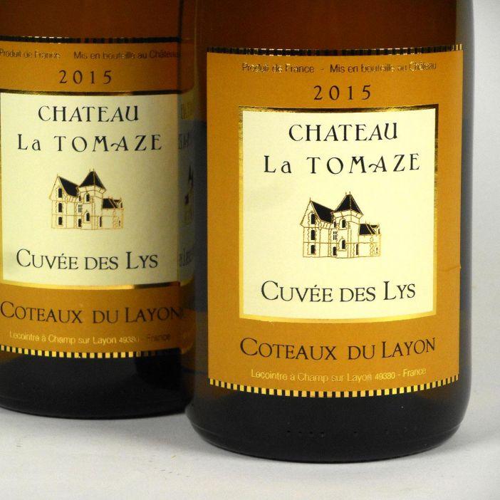 Coteaux du Layon: 'Cuvée des Lys' Château la Tomaze 2015