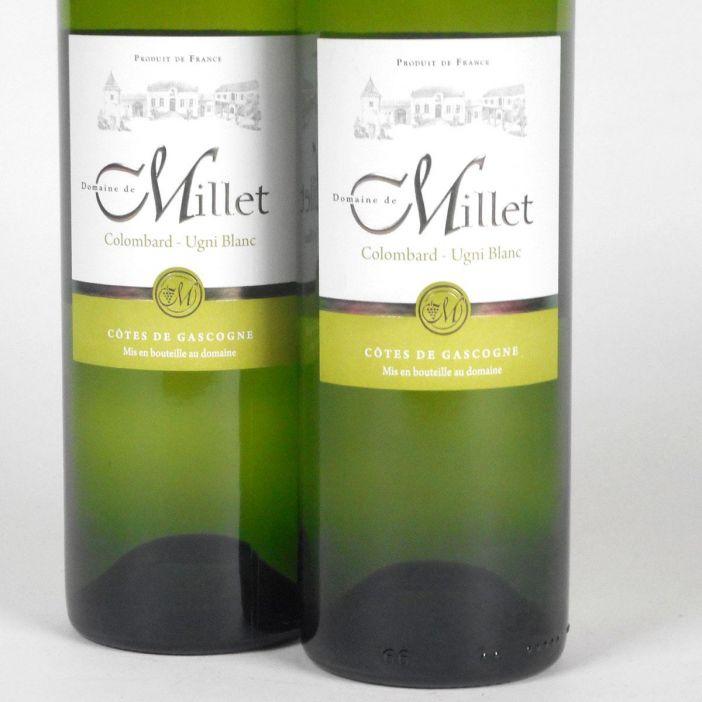 Côtes de Gascogne: Domaine Millet Colombard - Ugni Blanc 2018