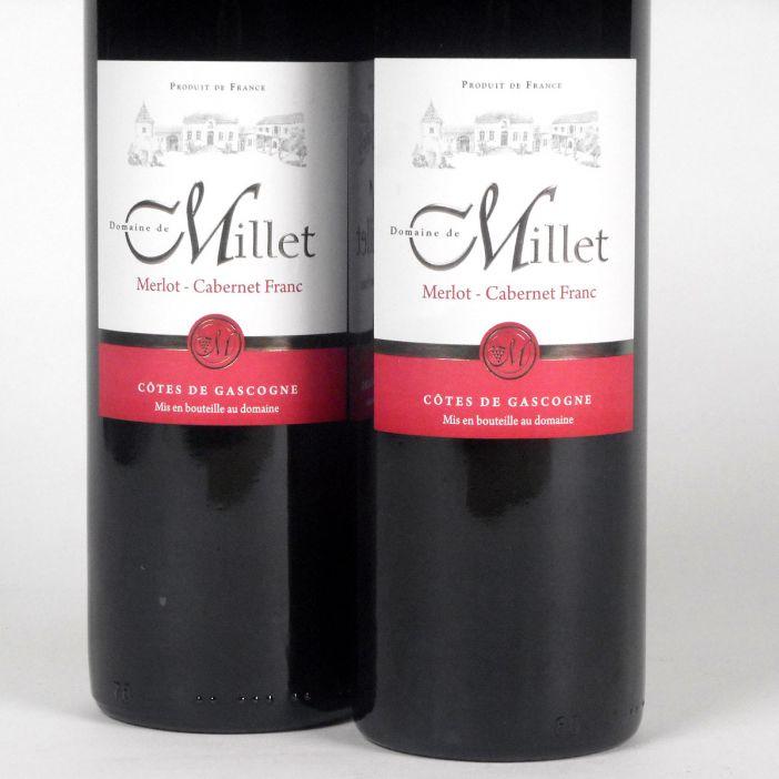 Côtes de Gascogne: Domaine Millet Merlot - Cabernet Franc 2018