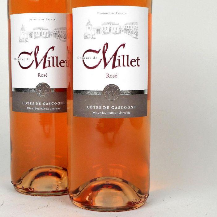 Côtes de Gascogne: Domaine Millet Rosé 2018