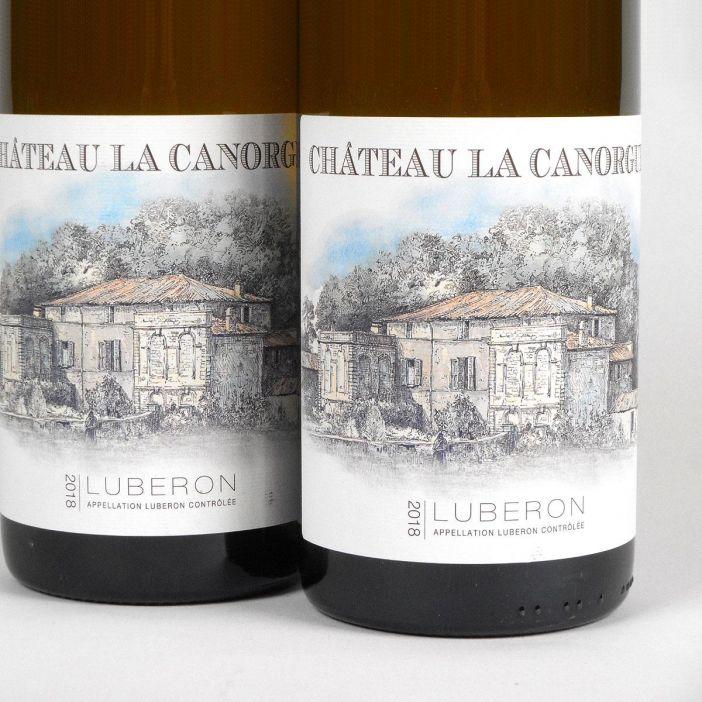 Côtes du Luberon: Château la Canorgue Blanc 2018