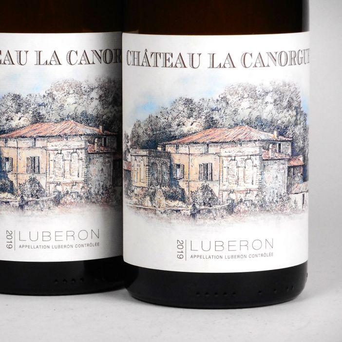 Côtes du Luberon: Château la Canorgue Blanc 2019