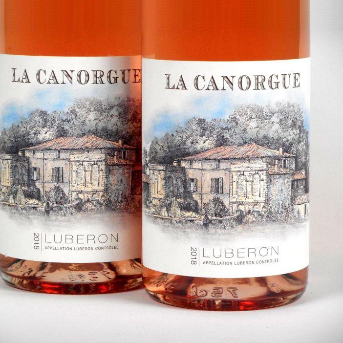 Côtes du Luberon: La Canorgue Rosé 2018