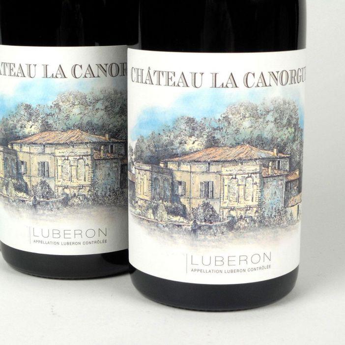 Côtes du Luberon: Château la Canorgue Rouge 2016