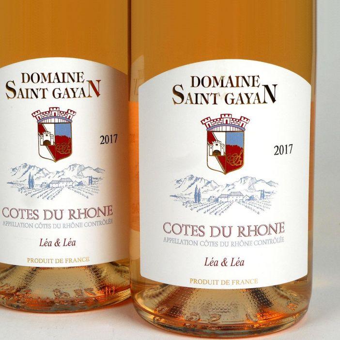 Côtes du Rhône: Domaine Saint Gayan 'Léa & Léa' Rosé 2017