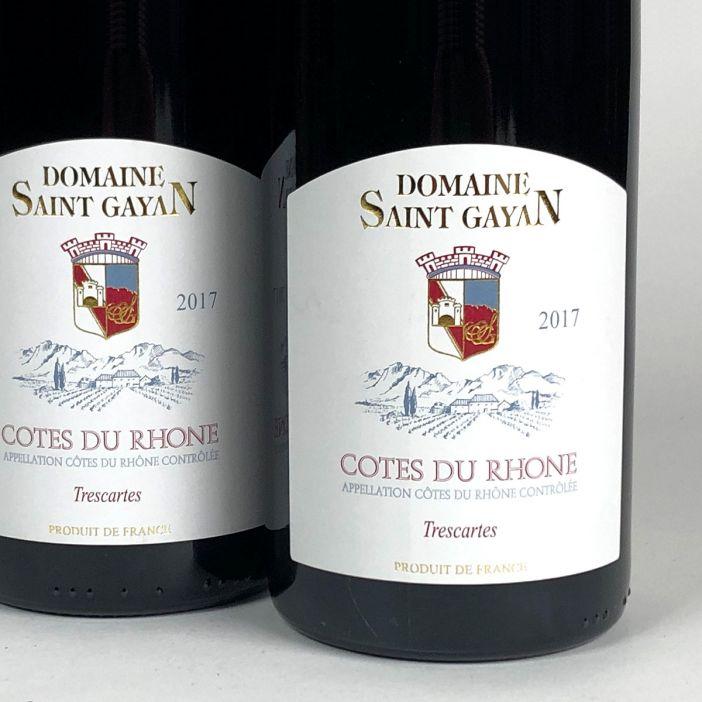 Côtes du Rhône: Domaine Saint Gayan 'Trescartes' 2017
