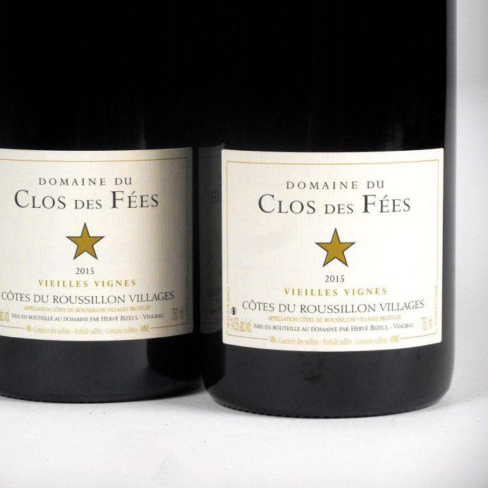 Côtes du Roussillon: Domaine du Clos des Fées 'Vieilles Vignes' Rouge 2015