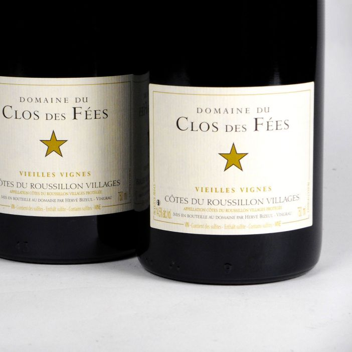 Côtes du Roussillon Villages: Domaine du Clos des Fées 'Vieilles Vignes' Rouge 2017 (Bottle)