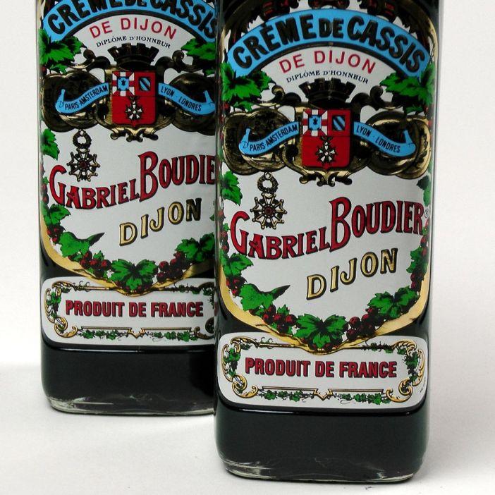 Crème de Cassis: Gabriel Boudier