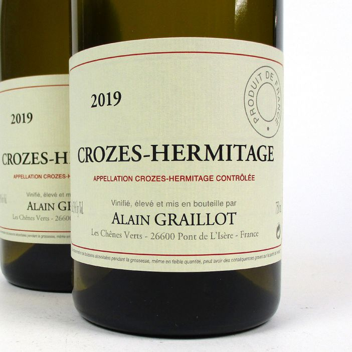 Crozes-Hermitage: Alain Graillot Blanc 2019