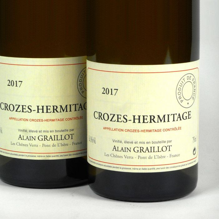 Crozes Hermitage Blanc: Alain Graillot 2017