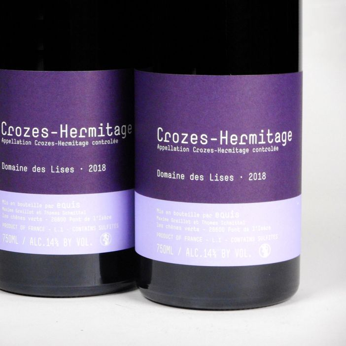 Crozes Hermitage: Domaine des Lises 2018