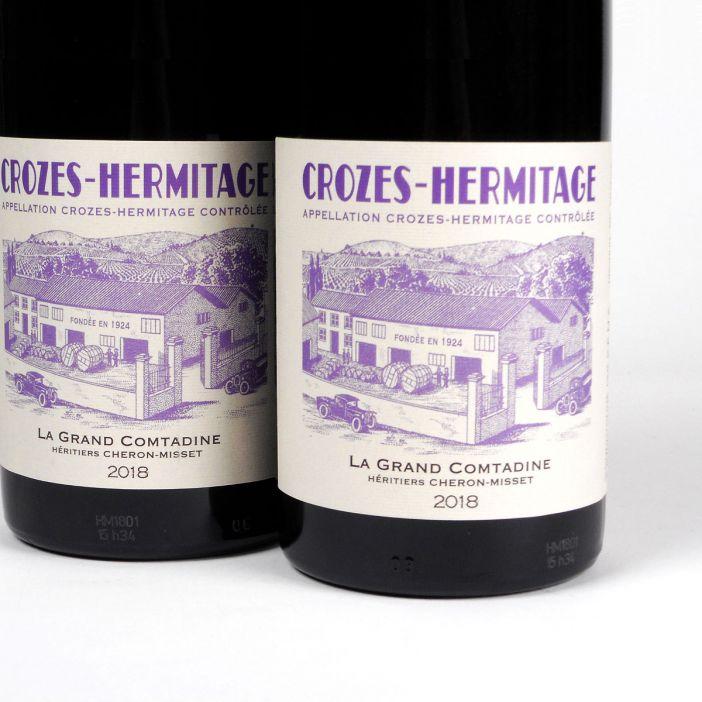 Crozes-Hermitage: Héritiers Cheron-Misset 'La Grand Comtadine' 2018
