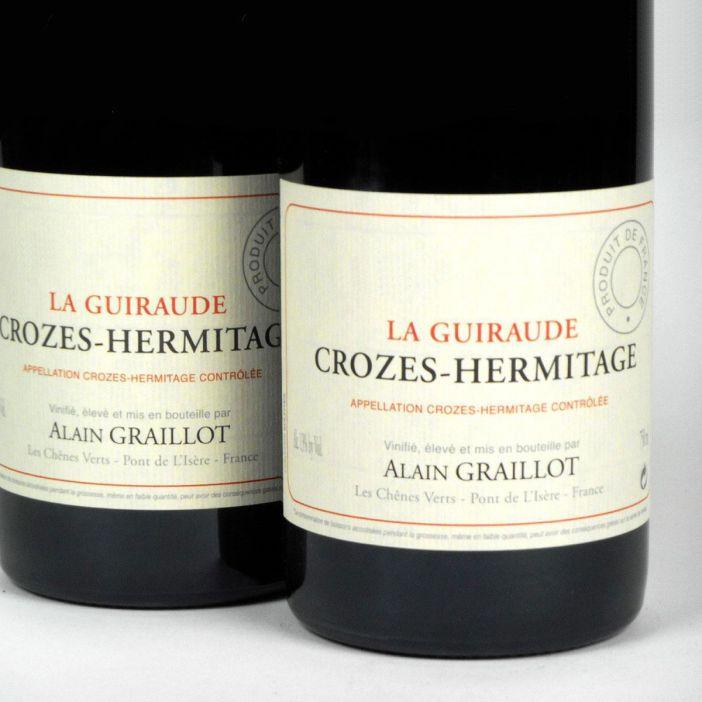Crozes Hermitage Rouge: Alain Graillot 'La Guiraude' 2016