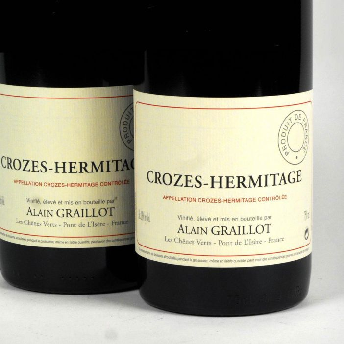 Crozes Hermitage Rouge: Alain Graillot 2017