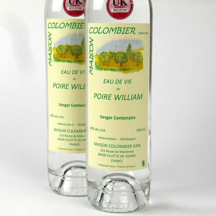 Eau de Vie de Poire William: Maison J. Colombier
