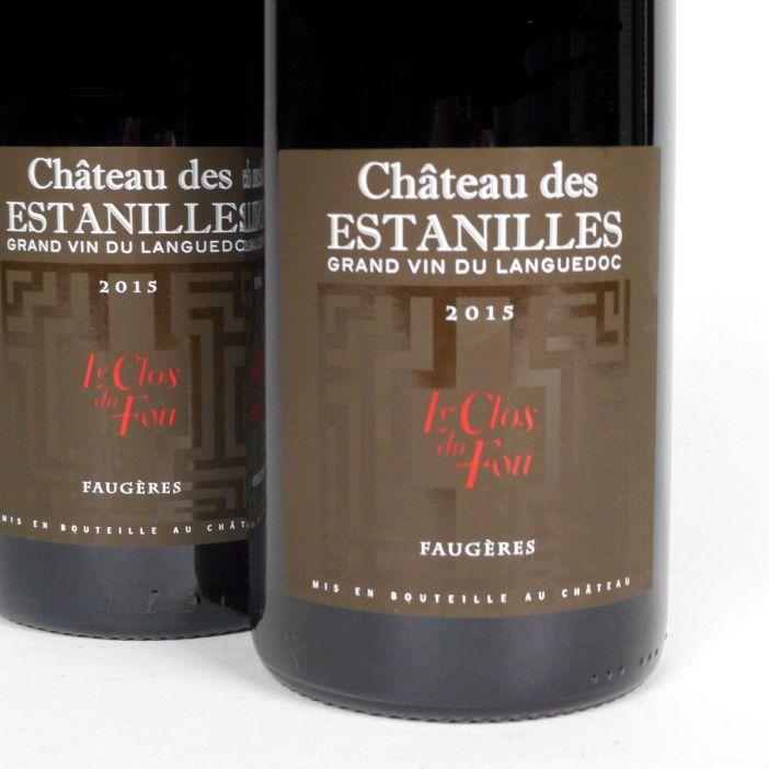 Faugères: Château des Estanilles 'Le Clos du Fou' Rouge 2015