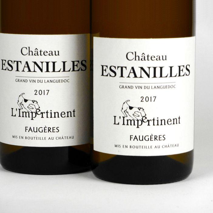 Faugères: Château des Estanilles L'Impertinent Blanc 2017