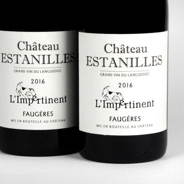 Faugères: Château des Estanilles L'Impertinent Rouge 2016