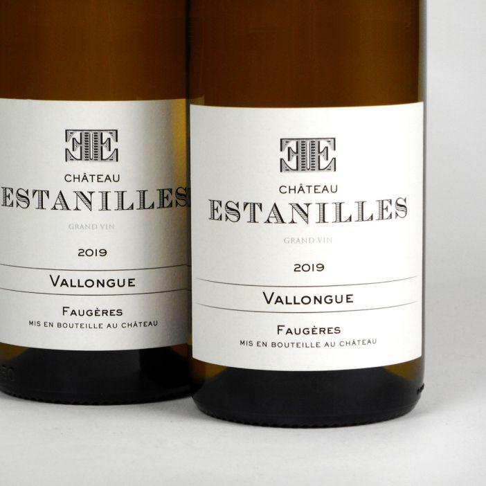 Faugères: Château Estanilles 'Vallongue' Blanc 2019