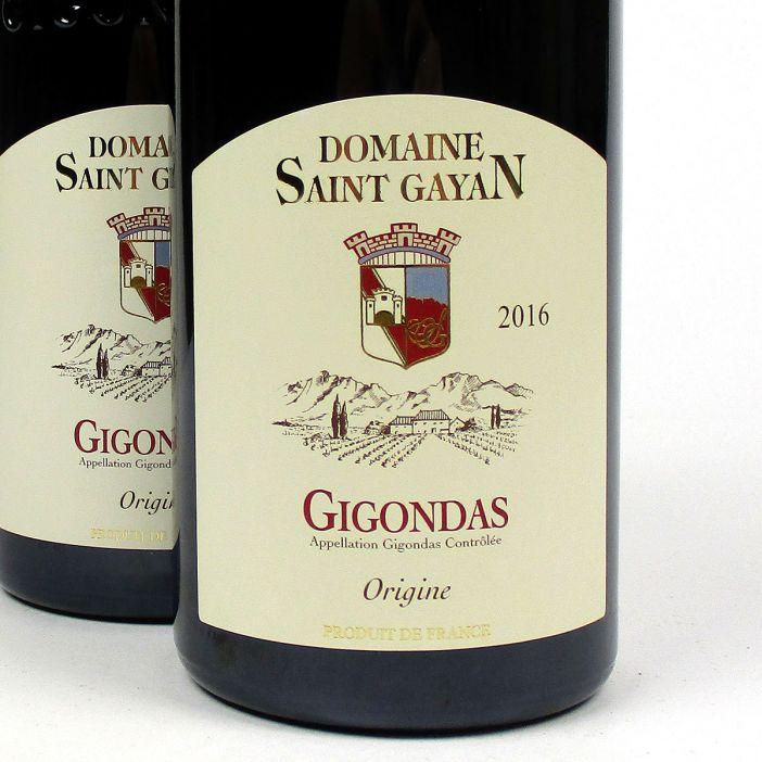 Gigondas: Domaine Saint Gayan 'Origine' 2016
