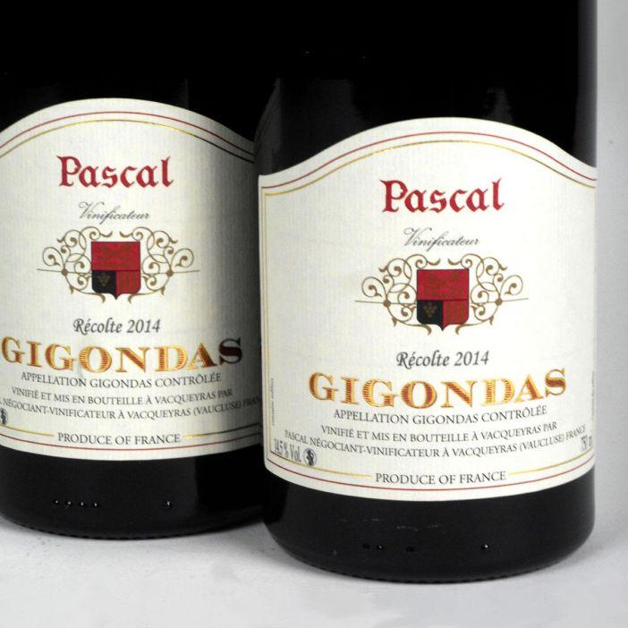 Gigondas: Pascal Frères 2014