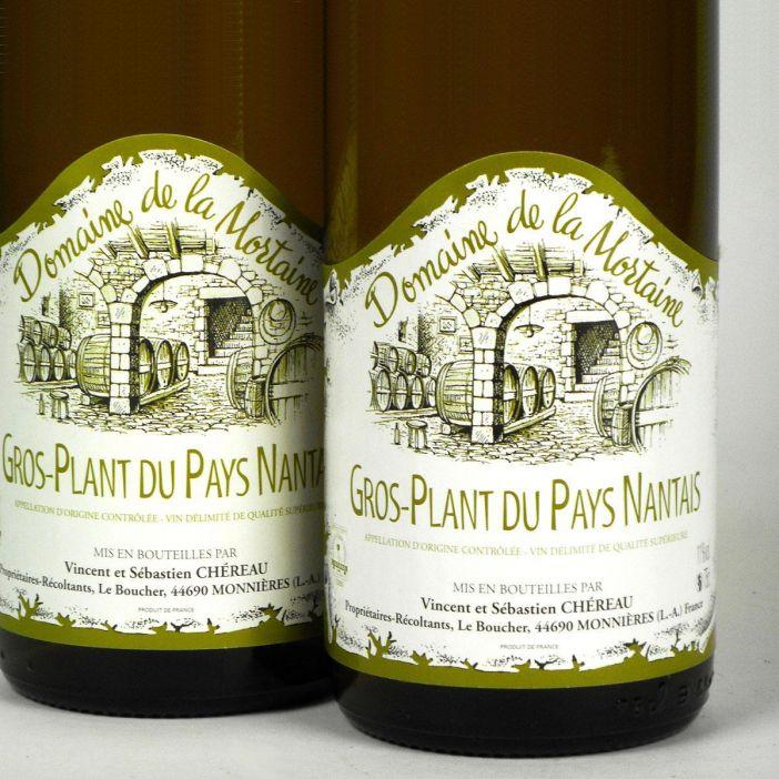 Gros Plant du Pays Nantais: Domaine de la Mortaine 2018