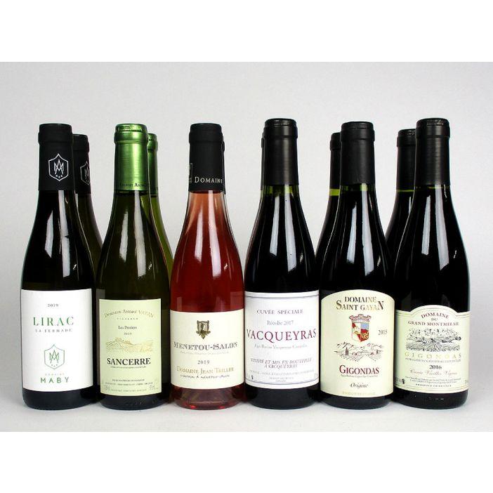 'Handy Half-bottles' Mixed Case Wine Offer