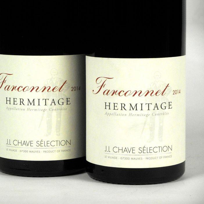 Hermitage: Jean-Louis Chave Sélection 'Farconnet' Rouge 2014