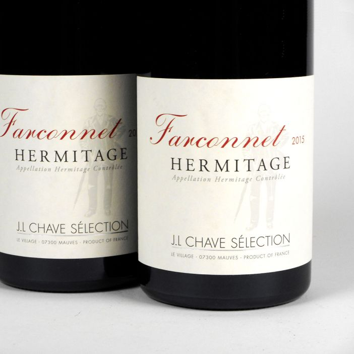 Hermitage: Jean-Louis Chave Sélection 'Farconnet' Rouge 2015