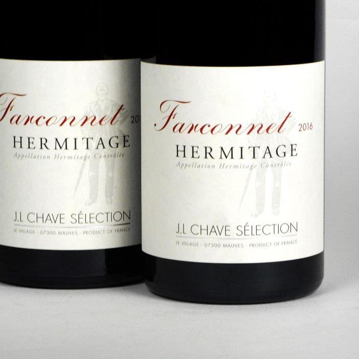 Hermitage: Jean-Louis Chave Sélection 'Farconnet' Rouge 2016