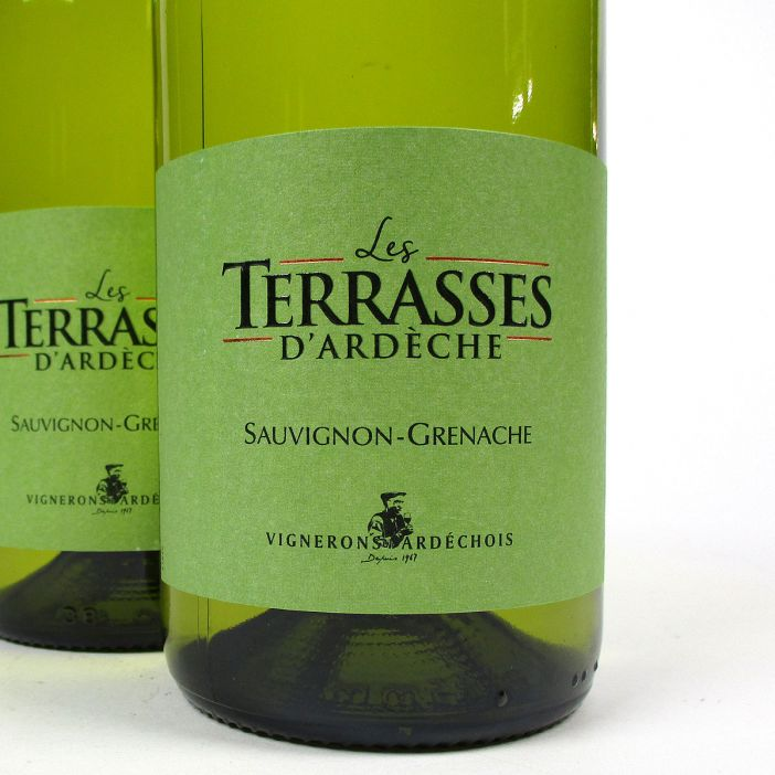 IGP Ardèche: Vignerons Ardéchois 'Les Terrasses' Blanc 2020