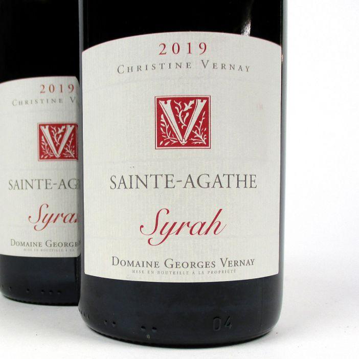 IGP Collines Rhodaniennes: Domaine Georges Vernay 'Sainte-Agathe' 2019