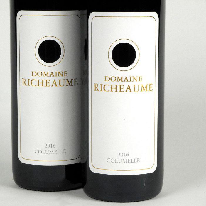 IGP Méditerranée: Domaine Richeaume 'Cuvée Columelle' 2016