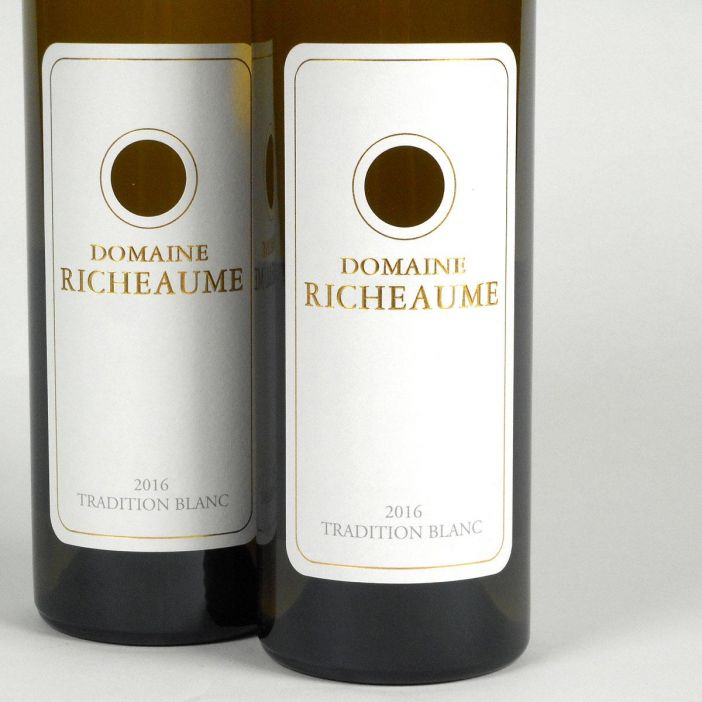 IGP Méditerranée: Domaine Richeaume 'Tradition' Blanc 2016