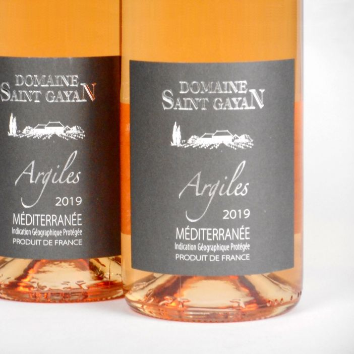 IGP Méditerranée: Domaine Saint Gayan 'Argiles' Rosé 2019