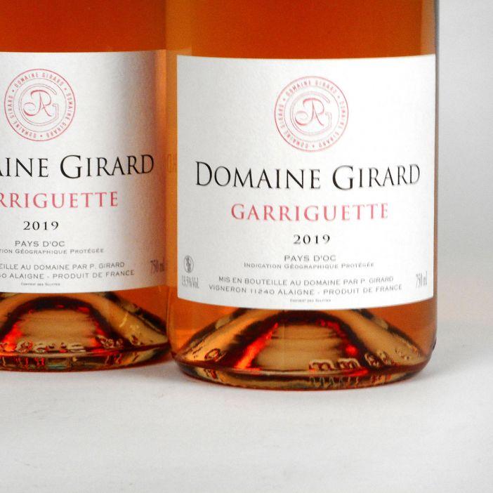 IGP Pays d'Oc: Domaine Girard 'Garriguette' Rosé 2019