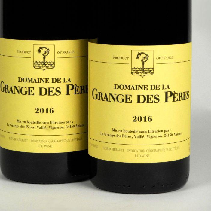 IGP Vin de Pays de l'Hérault: Domaine de La Grange des Pères 2016