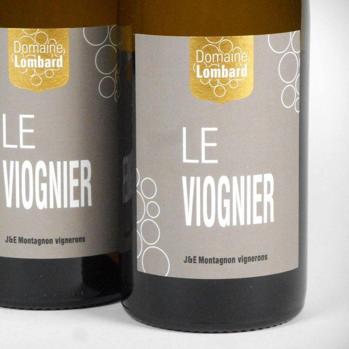 IGP Vin de Pays de la Drôme: Domaine Lombard 'Le Viognier' 2018