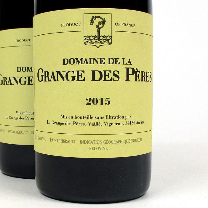 IGP Vin de Pays de l'Hérault: Domaine de La Grange des Pères 2015