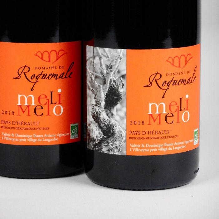 IGP Vin de Pays de l'Hérault: Domaine Roquemale 'Meli Melo' 2018