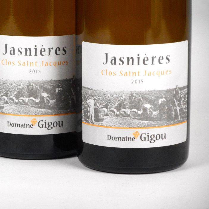 Jasnières: Domaine Gigou 'Clos Saint Jacques' 2015
