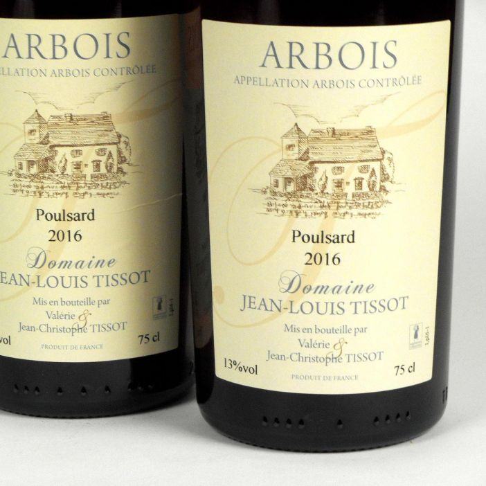 Jura Arbois: Poulsard Domaine Jean-Louis Tissot 2016
